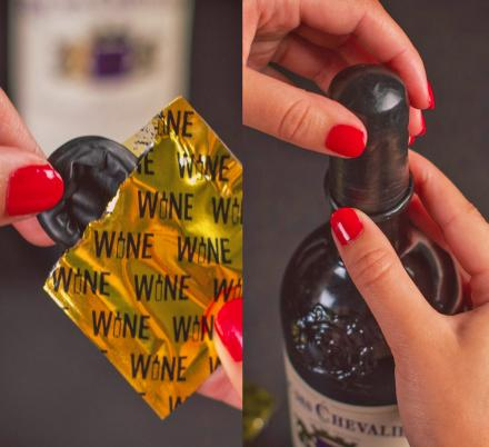 Wine Condoms To Keep Your Wine From Going Bad After Opening