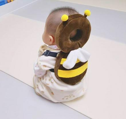 Animal Shaped Backpacks Protect Babies Heads