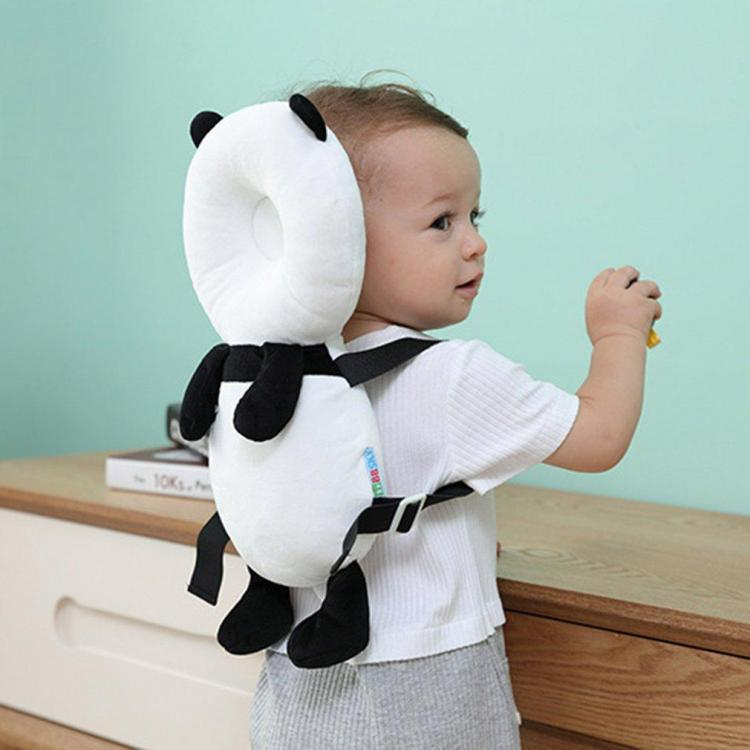Panda Head Protector Backpack For Babies